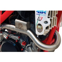 Racing full exhaust (stainlees steel / stainless steel / carbon) - ENDURO