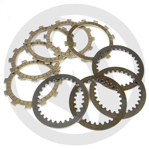 Kit of performance drive / driven clutch discs (Newfren)
