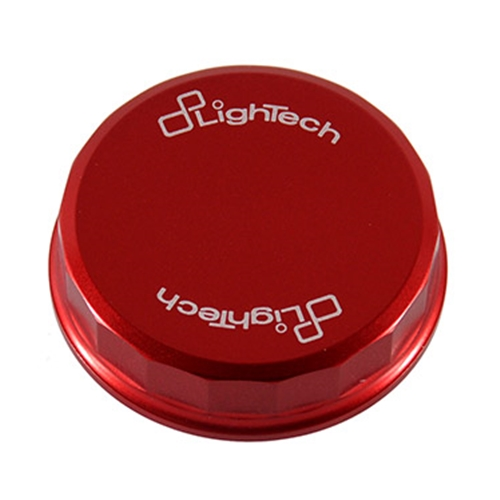 Red cover of front brake oil reservoir (Lightech)