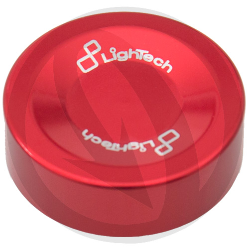 Red cover for brake clutch oil reservoir | Lightech