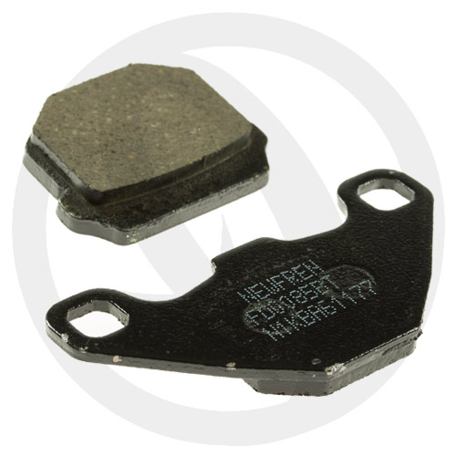 Couple of Road Touring Organic BT brake pads (rear)