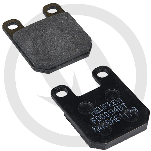 Couple of Newfren Road Touring Organic BT brake pads (front)