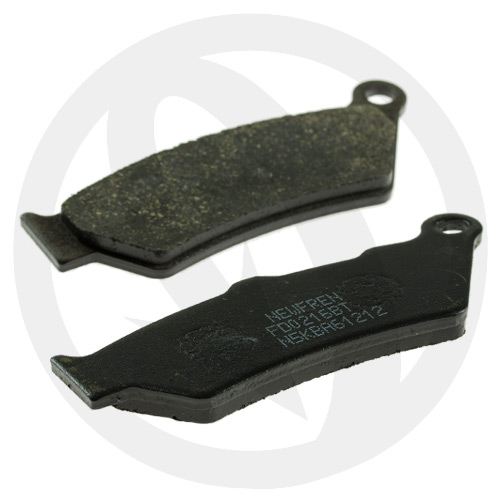 Couple of Newfren Road Touring Organic BT brake pads (rear)