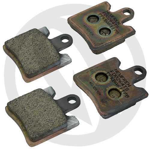 Kit of Road Touring Sinter TS brake pads (front)