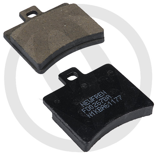 Couple of Newfren Scooter Active Organic BA brake pads (rear)