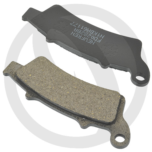 Couple of Newfren Scooter Active Organic BA brake pads (front)