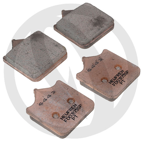 Couple of Road TT Pro Sinter SP brake pads (front)