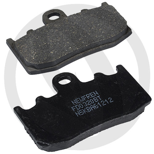 Couple of Road Touring Organic BT brake pads (front)
