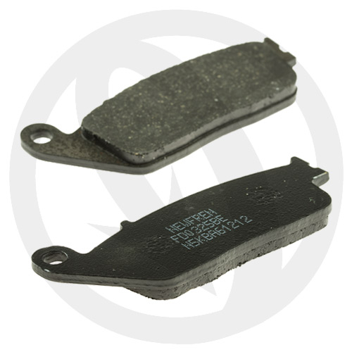 Couple of Scooter Elite Organic BE brake pads (front)