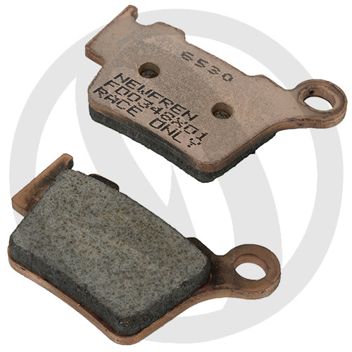 Couple of Offroad Dirt Race Sinter X01 brake pads (rear)