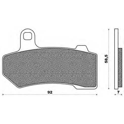 Couple of Road HD Sinter SH brake pads (front)