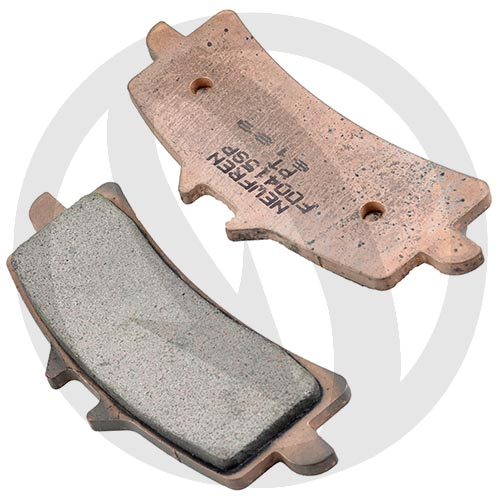 Couple of Newfren Road TT Pro Sinter SP brake pads (front)