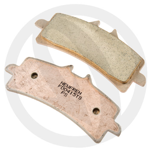 Couple of Newfren Road Touring Sinter TS brake pads (front)