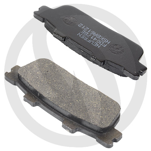 Couple of Scooter Elite Organic BE brake pads (rear)