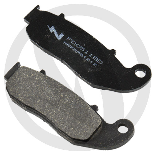 Couple of Offroad Dirt Organic BD brake pads (front)