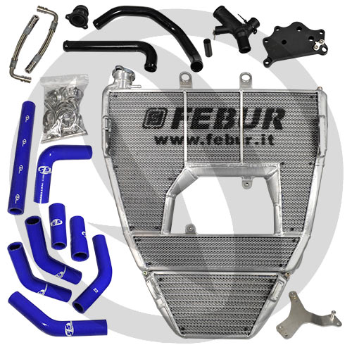 Febur full motorcycle race radiator