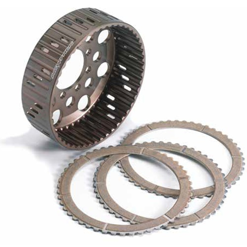 Kit of standard drive / driven clutch discs and bell (Newfren)