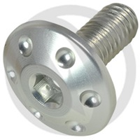 FOR bolt - silver ergal 7075 T6 - M6 x 25 | Lightech