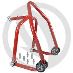 Pliable front stand with pins | Bike-Lift