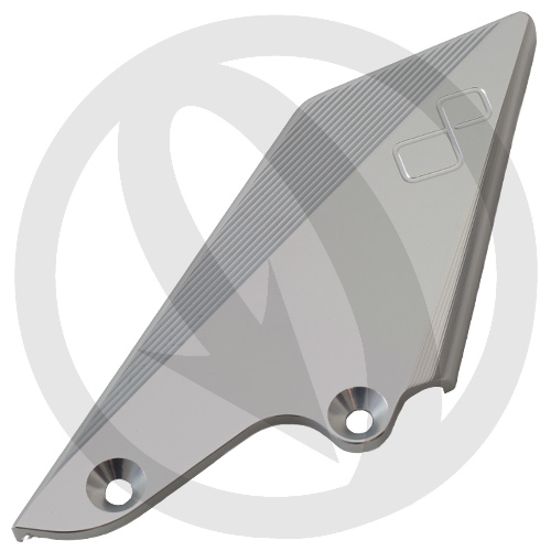 Spare right aluminium heel guard | Lightech