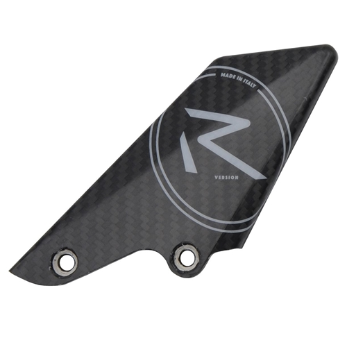 Spare right carbon White R heel guard | Lightech
