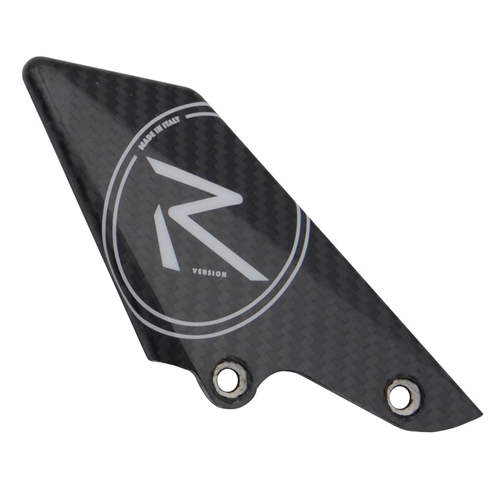 Spare left carbon White R heel guard | Lightech
