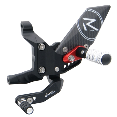 Couple of R version adjustable rearsets with standard gear (Lightech)
