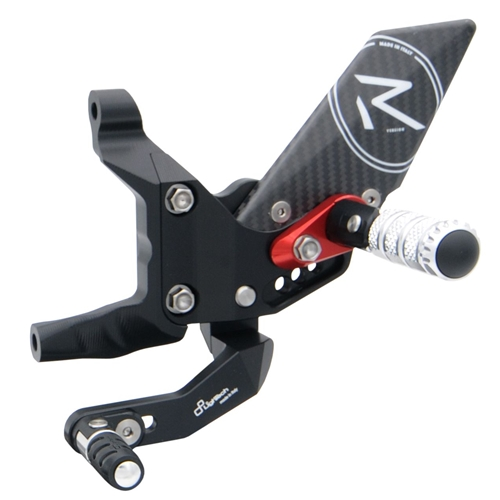 Couple of R version adjustable rearsets with reversed gear (Lightech)