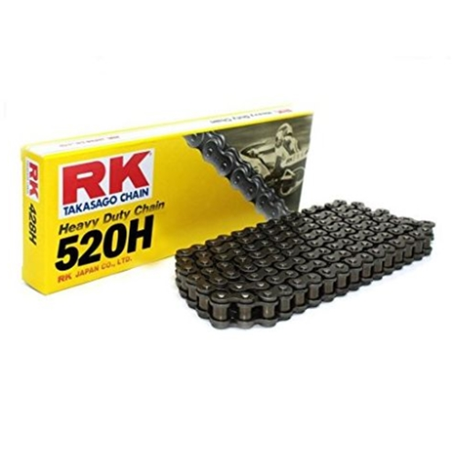 520H black chain - 114 links - pitch 520 | RK | stock pitch