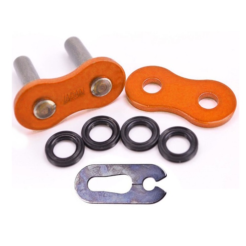 Spare orange CL clip link DD520XSO chain | RK