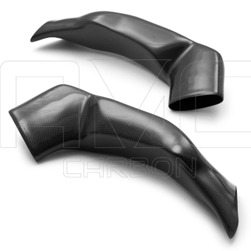 Couple of racing air ducts | matte carbon
