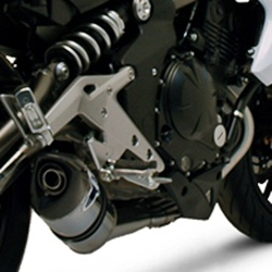 Relevance homologated full exhaust (stainlees steel / stainless steel / carbon)