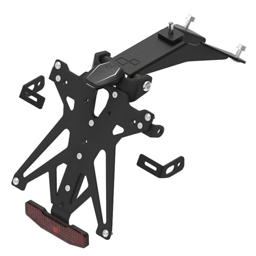 Licence plate holder with lights (A2)   Lightech