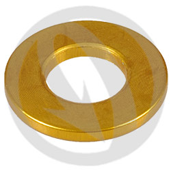 R standard washer - gold ergal 7075 T6 - M10 (Lightech)