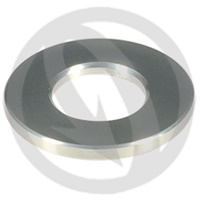 R standard washer - silver ergal 7075 T6 - M10 (Lightech)