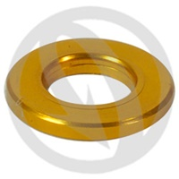 R standard washer - gold ergal 7075 T6 - M5 (Lightech)
