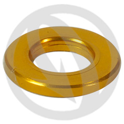 R standard washer - gold ergal 7075 T6 - M6 (Lightech)