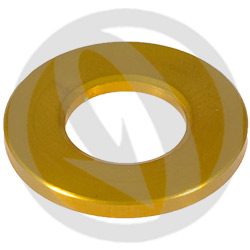 R standard washer - gold ergal 7075 T6 - M8 (Lightech)