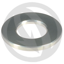 R standard washer - silver ergal 7075 T6 - M8 (Lightech)