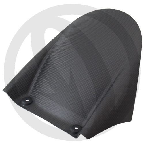 Rear hugger (matte carbon)