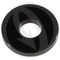 RS standard washer - black ergal 7075 T6 - M6A