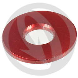 RS standard washer - red ergal 7075 T6 - M6A (Lightech)