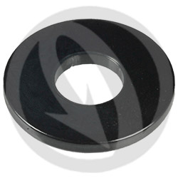 RS standard washer - black ergal 7075 T6 - M8A
