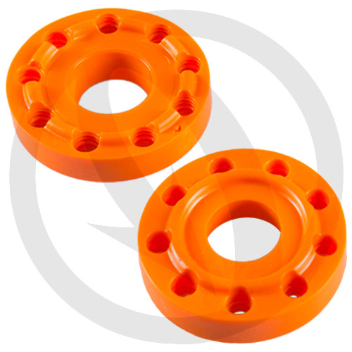Coppia shock absorber arancio di ricambio Lightech