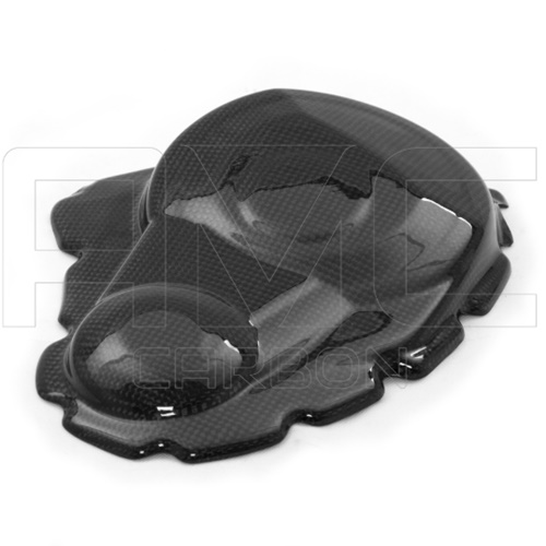 Clutch cover guard | glossy carbon