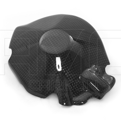 Alternator cover guard | glossy carbon