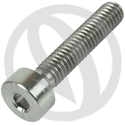 T001 screw - titanium grade 5 - M4 x 20 (Lightech)