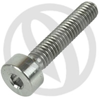 T001 screw - titanium grade 5 - M4 x 25 (Lightech)