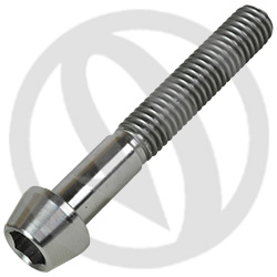 T001 screw - titanium grade 5 - M6 x 40 (Lightech)