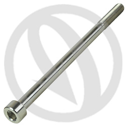 T001 screw - titanium grade 5 - M6 x 100 (Lightech)